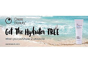 Purchase Two Oasis Beauty Products And Get the Hydrator Free