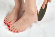 Is there a right way to smooth feet?
