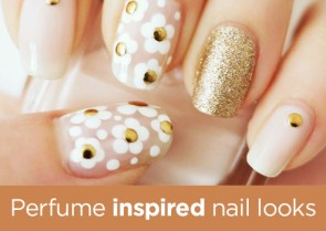 Perfume Inspired Nail Art