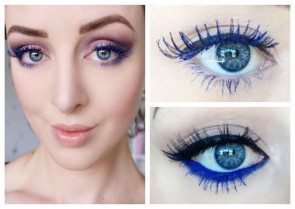 Makeup Look of the Week - Sophie Garth Feels The Blues!
