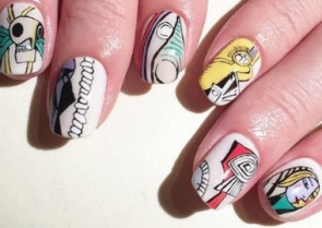 Can You Believe These Nail Art Looks?! Picasso would approve