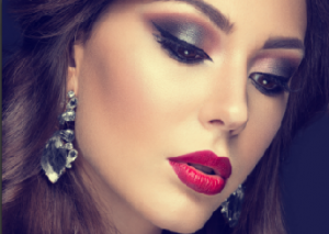 How will you pair red lips this Christmas?
