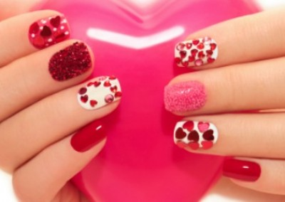Wear Your Heart on Your... Nails!