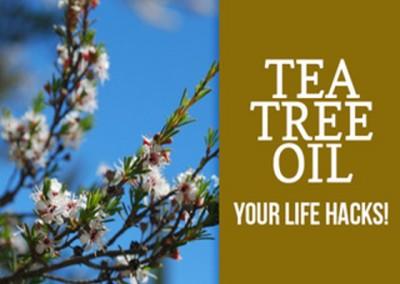 Tea Tree Life Hacks