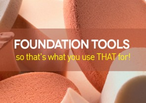 Foundation tools – so that's what you use that for!