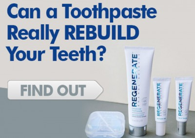 Can a toothpaste rebuild tooth enamel - in just three days?