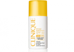 Clinique SPF 50 Mineral Sunscreen Fluid for Face Reviews