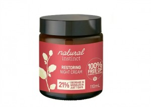 Natural Instinct Restoring Night Cream Reviews