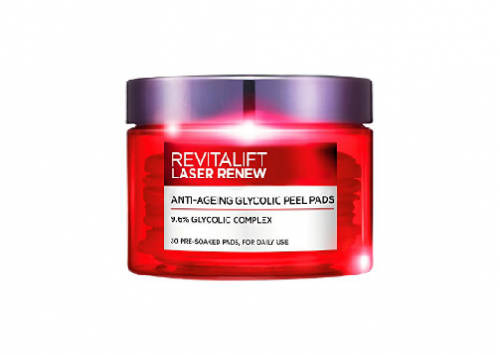 L'Oreal Revitalift Laser Renew Anti-Ageing Glycolic Pads Review