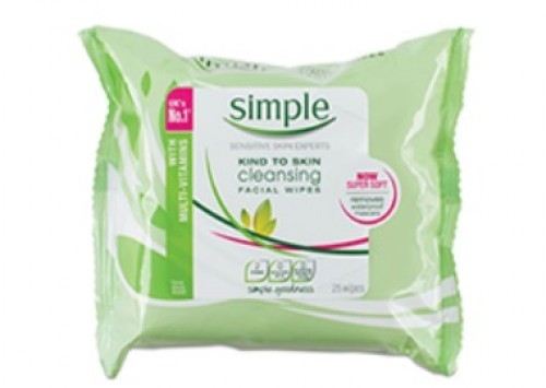 Simple Kind to Skin Cleansing Facial Wipes Review