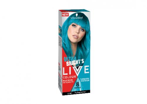 Schwarzkopf LIVE Colour Turquoise Temptation Review