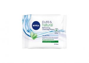 NIVEA Pure & Natural Refreshing Cleansing Wipes Reviews