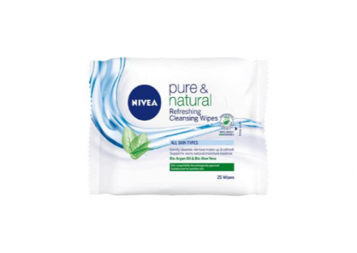 NIVEA Pure & Natural Refreshing Cleansing Wipes Reviews
