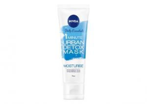 NIVEA 1 Minute Urban Skin Detox Mask + Moisturise