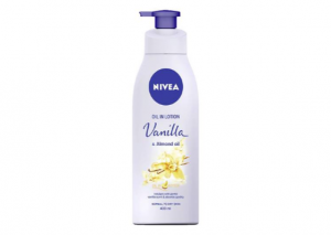 NIVEA Body Oil Infused Lotion Vanilla and Almond Oil Review
