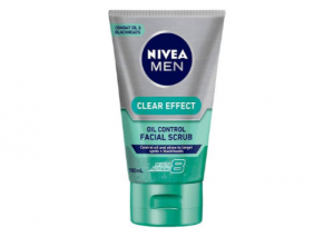 NIVEA MEN Clear Effect Oil Control Facial Scrub Reviews