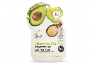 by nature Avocado Oil & Rice Protein Clay Face Mask Reviews