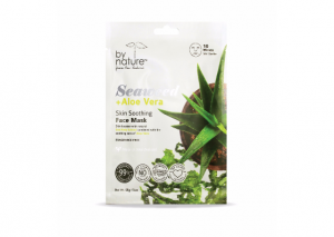 by nature Seaweed & Aloe Vera Skin Purifying Sheet Face Mask Reviews