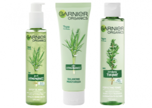 Garnier Organics Lemongrass and Thyme Regime Reviews