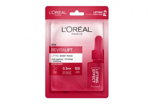 L'Oreal Paris Revitalift Youthful Lifting Tissue Mask Reviews
