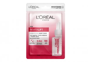 L'Oreal Paris Revitalift Youthful Brightening Tissue Mask Reviews