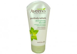 Aveeno Positively Radiant Skin Brightening Daily Scrub Review