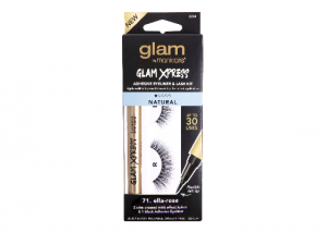 Glam by Manicare Xpress Adhesive Eyeliner and Lash Kit NATURAL