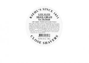 Kiehl's Lite Flite Shave Cream Review
