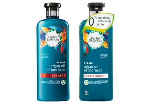 Herbal Essences BioRenew Repair Argan Oil of Morocco Regime