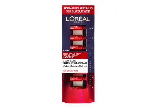 L'Oréal Paris Revitalift Laser 7 Day Treatment Glycolic Peel Ampoules