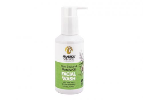 Manuka Vantage New Zealand Manuka Oil Face Wash