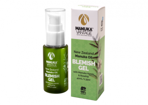Manuka Vantage New Zealand Manuka Oil Blemish Gel