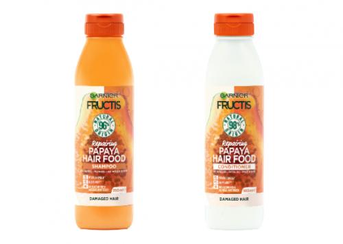 Garnier Fructis Hair Food Papaya Shampoo and Conditioner