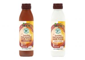 Garnier Fructis Hair Food Macadamia Shampoo and Conditioner