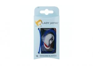 Lady Jayne Snagless Elastics - 18 Pack
