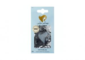 Lady Jayne Black Snagless Elastomer Elastics - 50 pack