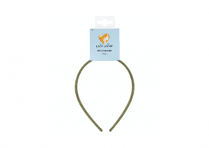 Lady Jayne Thick Satin Headband