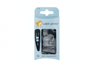 Lady Jayne Black One Touch Clips - 10 Pack