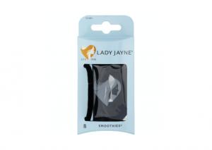 Lady Jayne Smoothies Black Luxury Elastics - 8 Pack