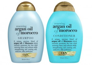 OGX Renewing Morrocan Argan Oil Shampoo and conditioner Review