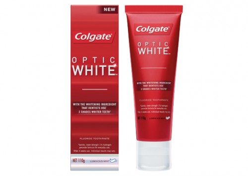 Colgate optic white toothpaste review