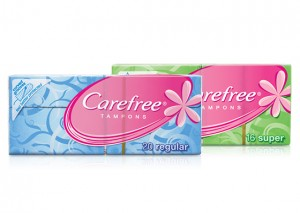 Carefree Tampons