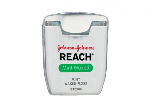 Reach Flouride Mint Waxed Floss