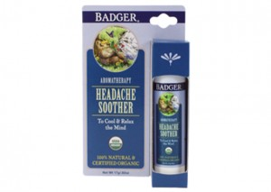 Badger Headache Soother, Peppermint & Lavender