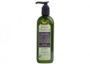 Avalon Organics Lavender Luminosity Cleansing Gel