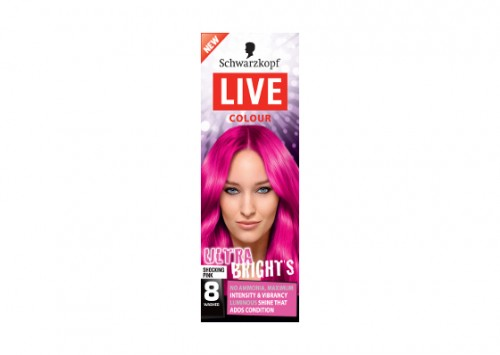 Schwarzkopf Live Salon Colour XXL Ultra Bright Pink Review