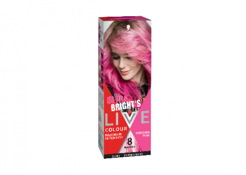 Schwarzkopf LIVE Colour Ultra Brights Shocking Pink Hair Colour Review