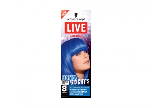 Schwarzkopf Live Salon Colour XXL Ultra Electric Blue Review