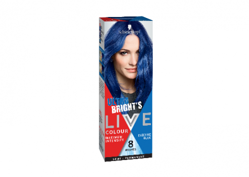 Schwarzkopf LIVE Colour Ultra Brights Electric Blue Review