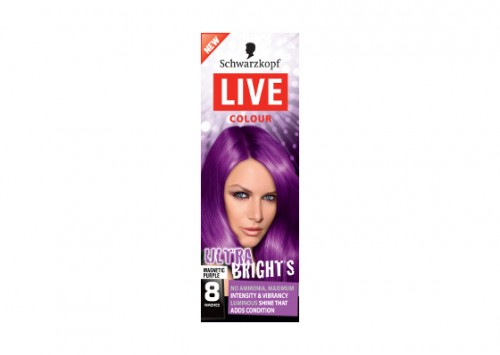 Schwarzkopf Live Salon Colour XXL Ultra Bright Purple Review